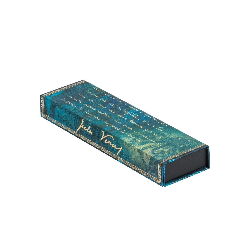 Pencil Case Verne, Twenty Thousand Leagues - Embellished Manuscripts