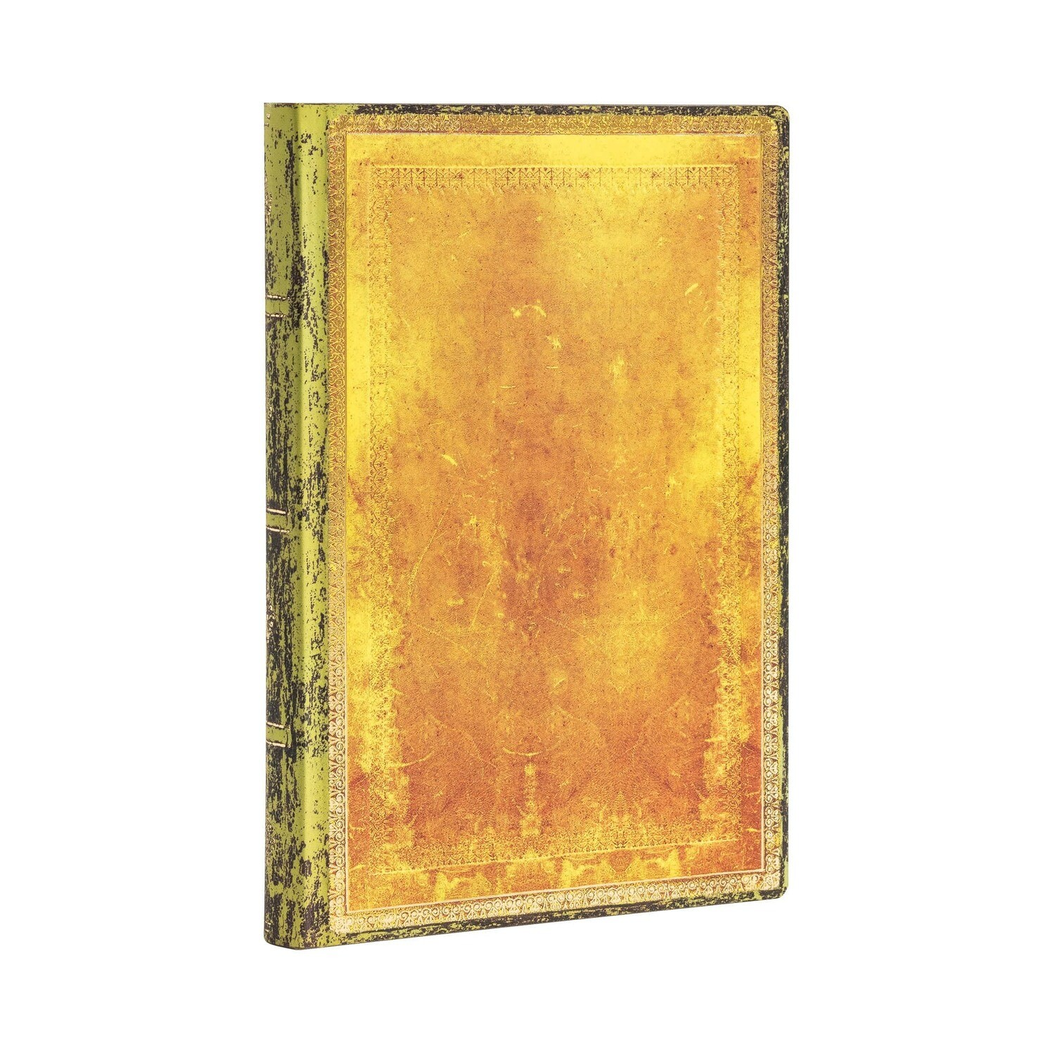 Journal, Lined, Mini Flexis  Ochre - Old Leather Collection