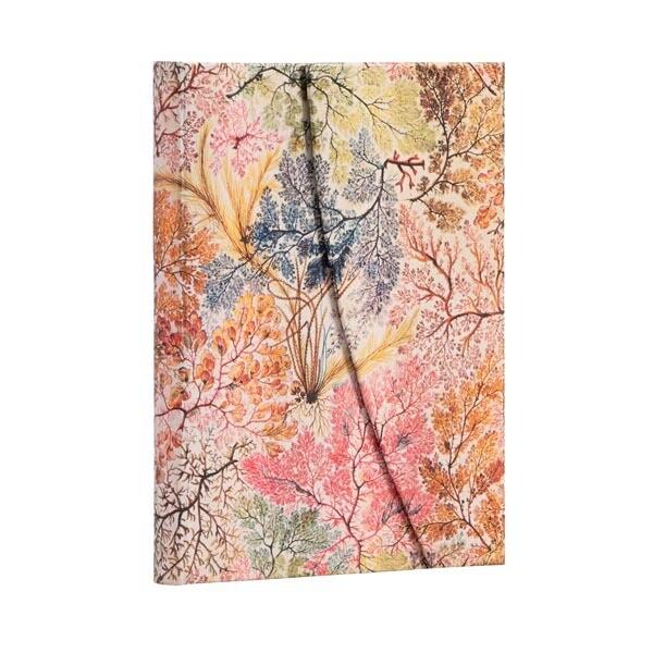 Journal, Lined, Midi Wrap Hardcover Anemone - William Kilburn