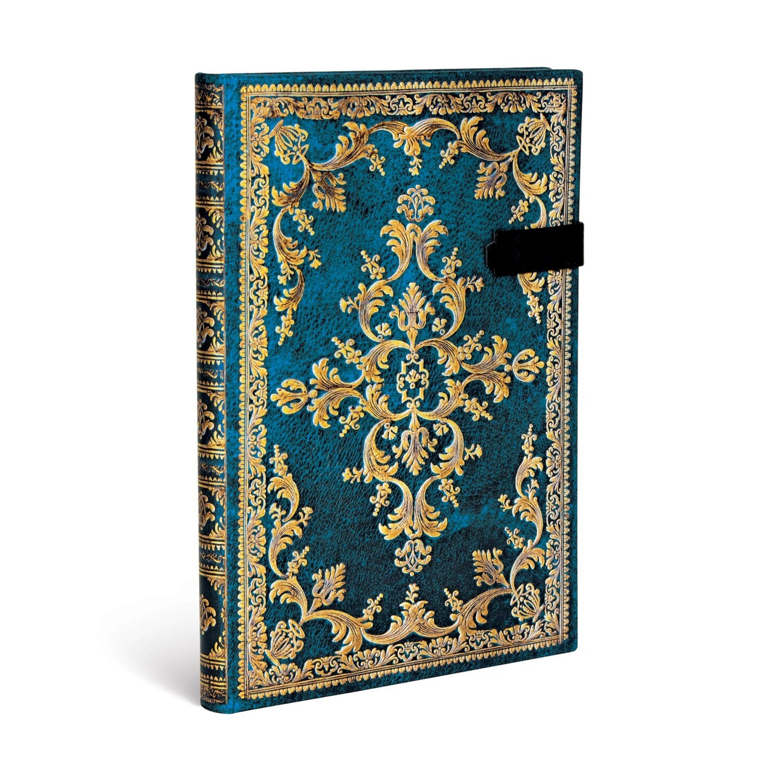 Journal, Unlined, Midi Strap Hardcover Metrauro - Jewel of Urbino
