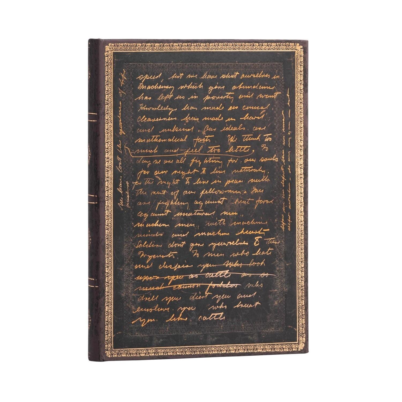 Journal, Lined, Midi Hardcover Celebrating Charlie Chaplin