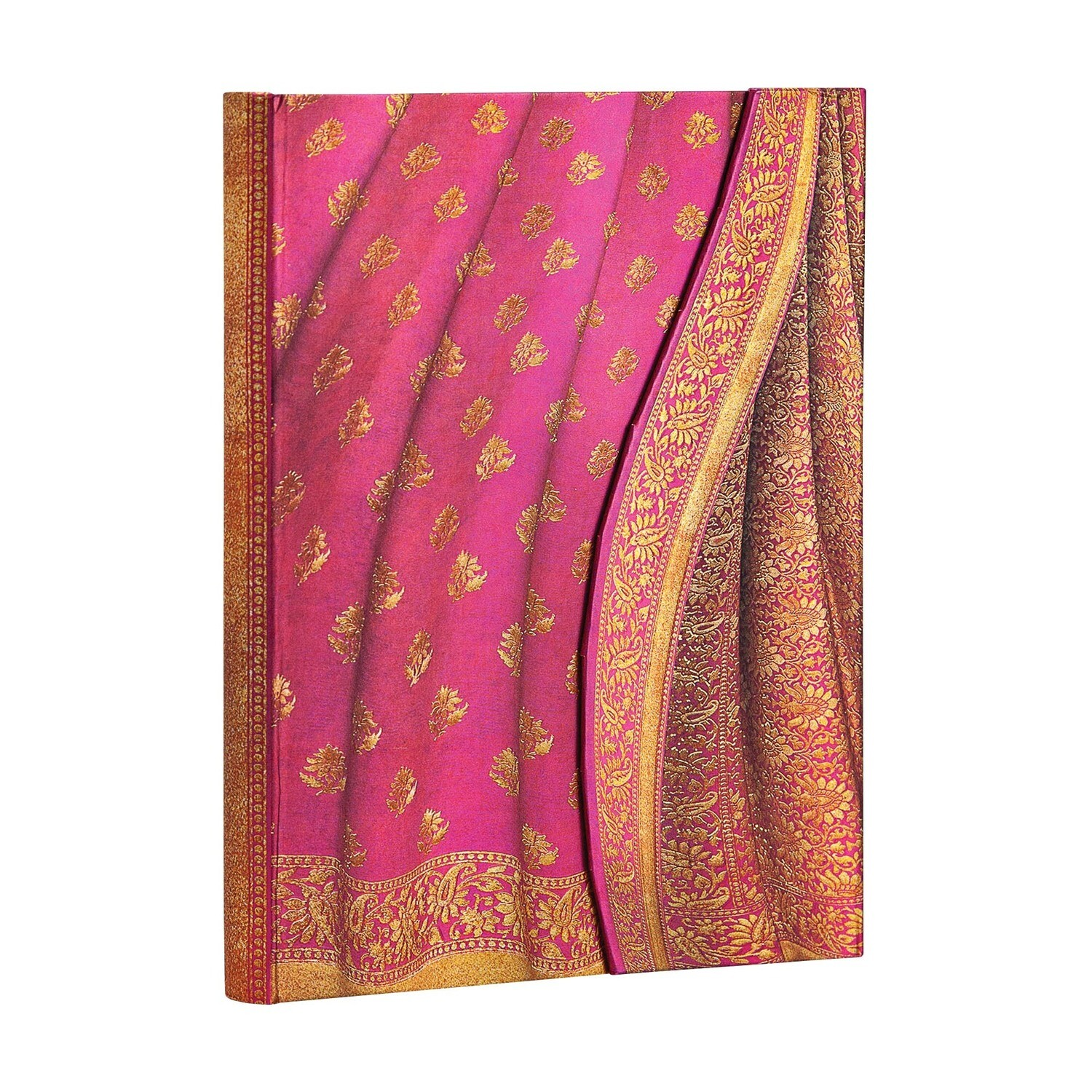 Journal, Lined, Midi Wrap Gulabi - Varanasi Silks