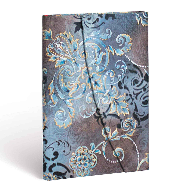 Journal, Unlined, Mini Wrap Gossamer Grey - Belle Epoque