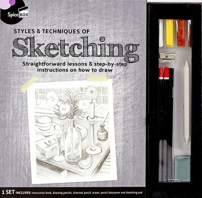 Book Kit: Master Class Sketching