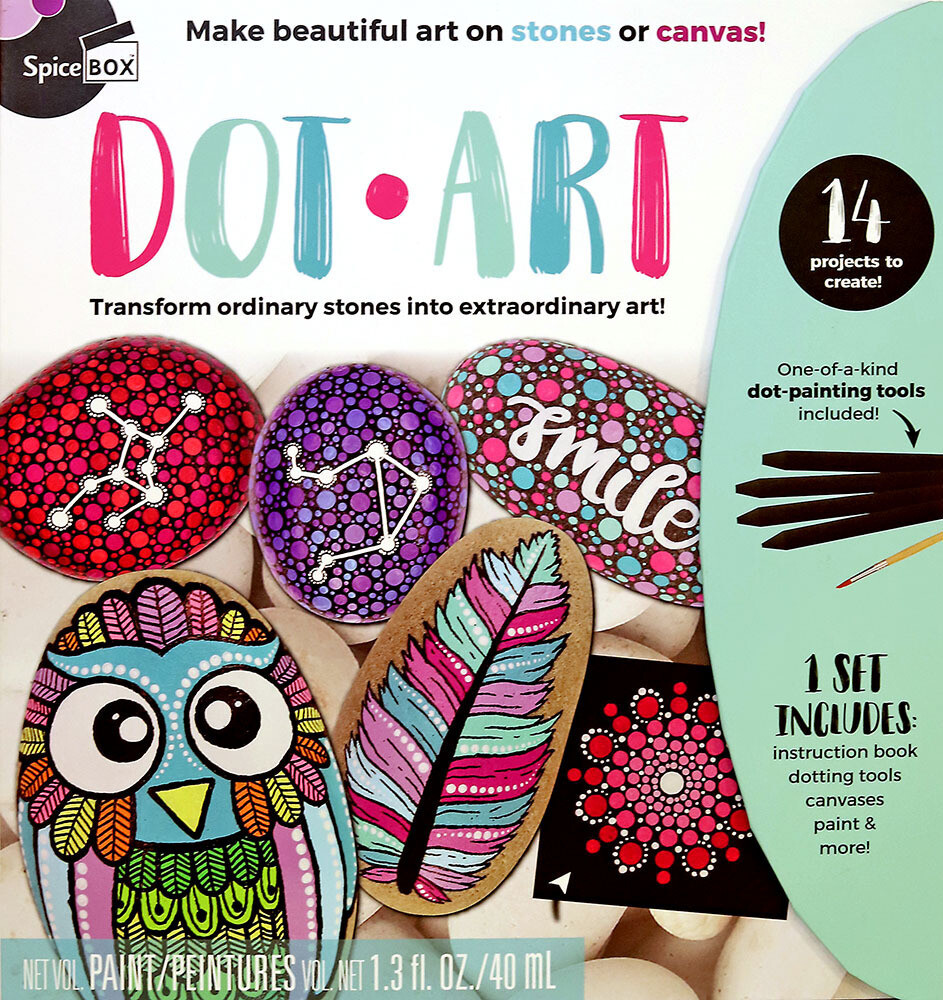 Book Kit: Skecth Plus Deluxe Dot Art