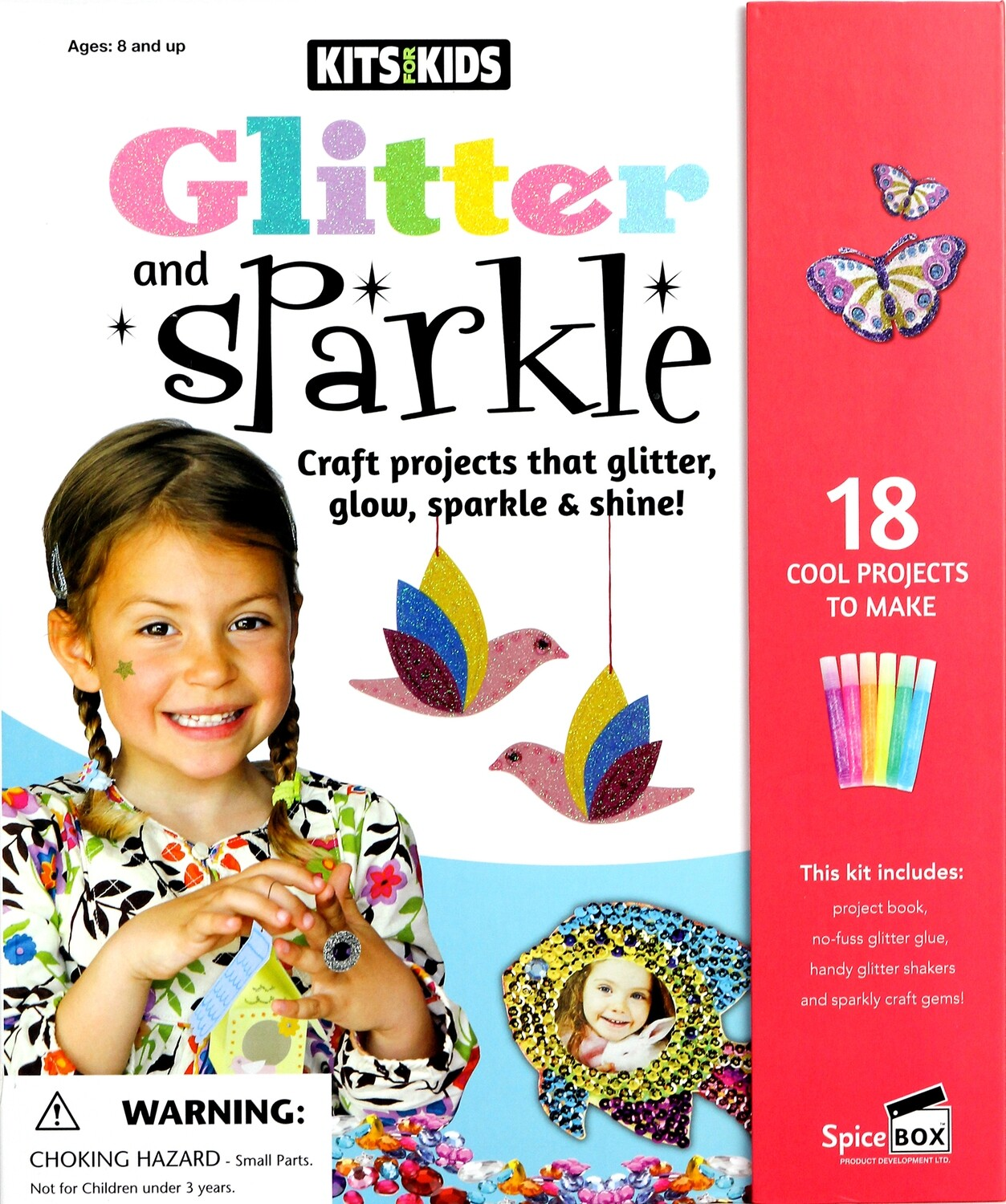 Book Kit: Kits For Kids Glitter & Sparkle