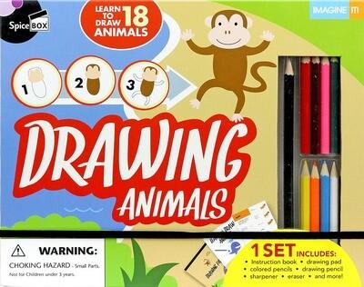 Book Kit: Imagine It! Drawing Animals