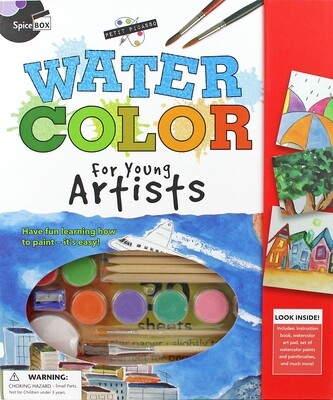 Book Kit: Petit Picasso Watercolour For Young Artists