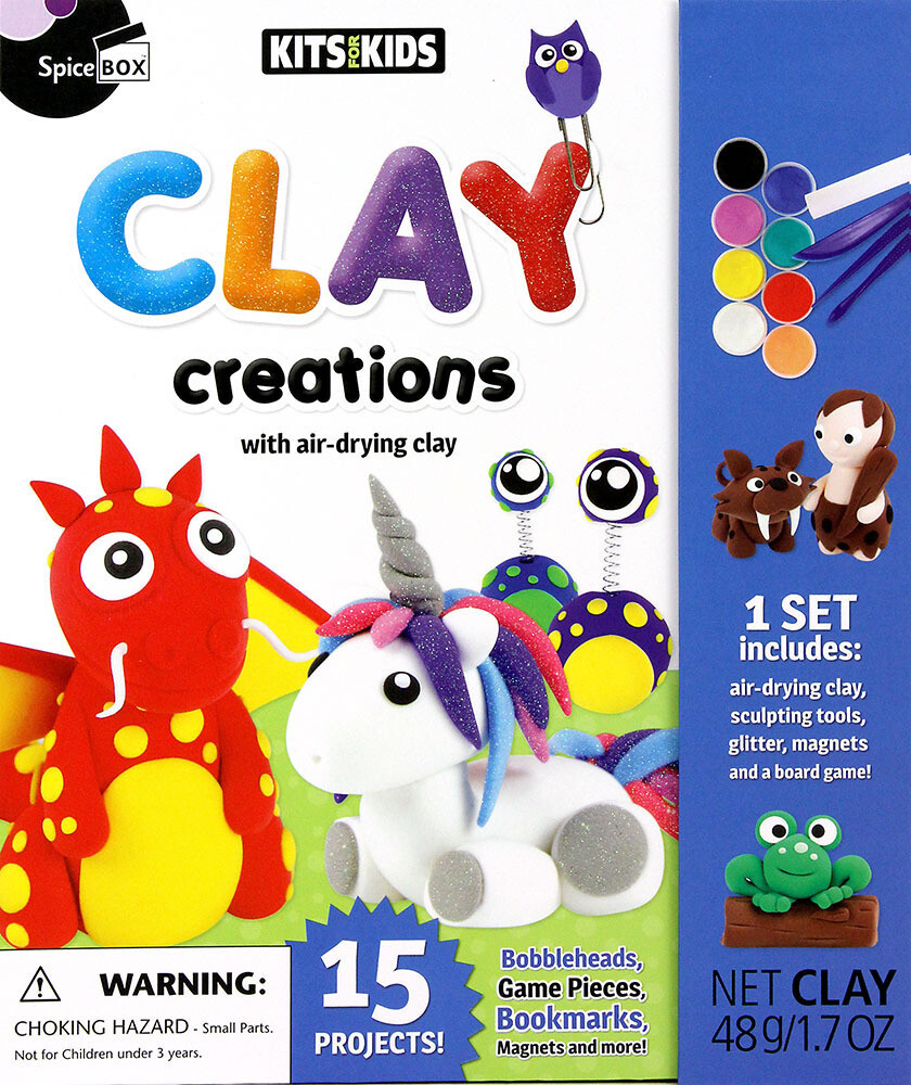 Book Kit: Kits For Kids Clay Creations