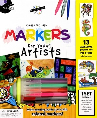 Book Kit: Petit Picasso Markers For Young Artists