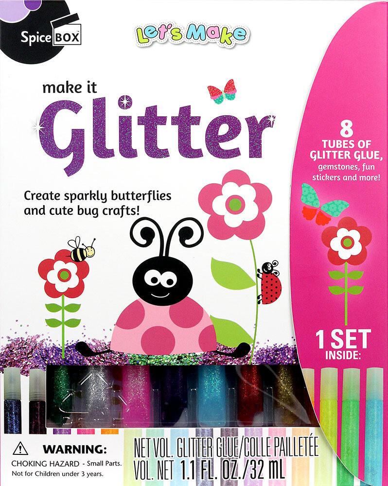 Book Kit: Let's Make Make It Glitter