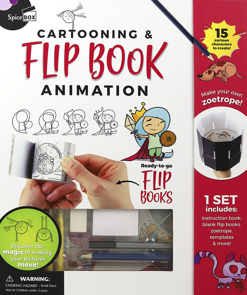 Book Kit: Cartooning & Flip Books Flip Book Animation