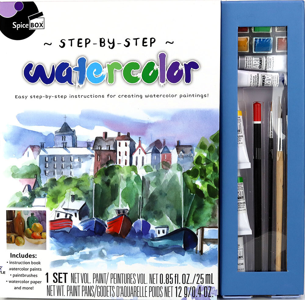 Book Kit: Step-By-Step Watercolour