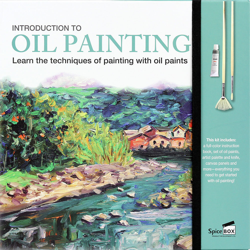 Book Kit: Intro To Oil Painting