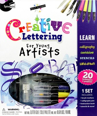 Book Kit: Petit Picasso Creative Lettering