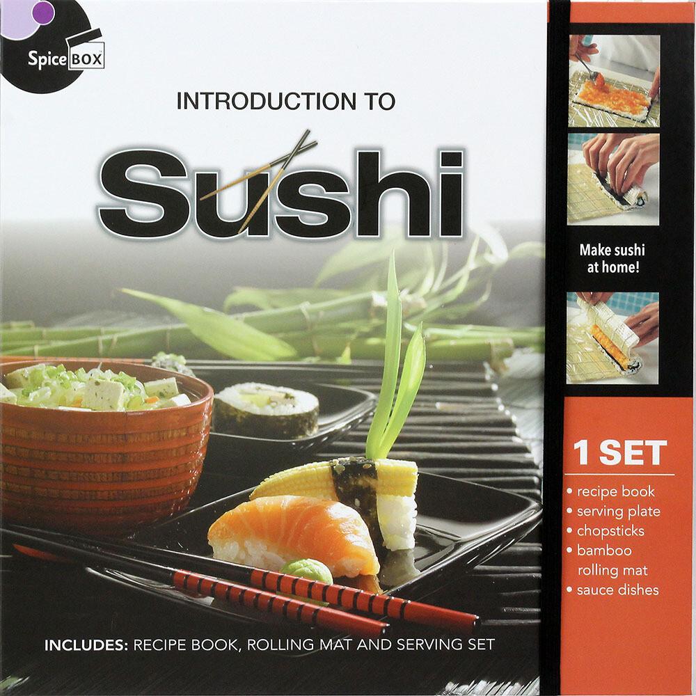 Book Kit: Intro To Sushi