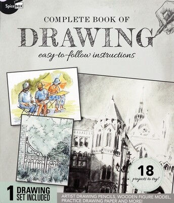 Book Kit: Complete Book Of Drawing