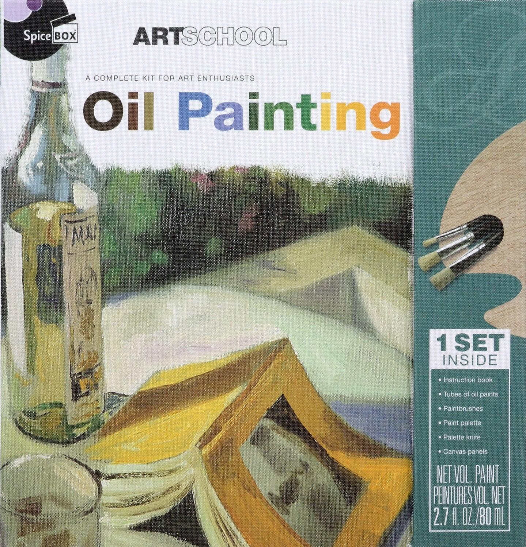 Book Kit: Art School Oil Painting