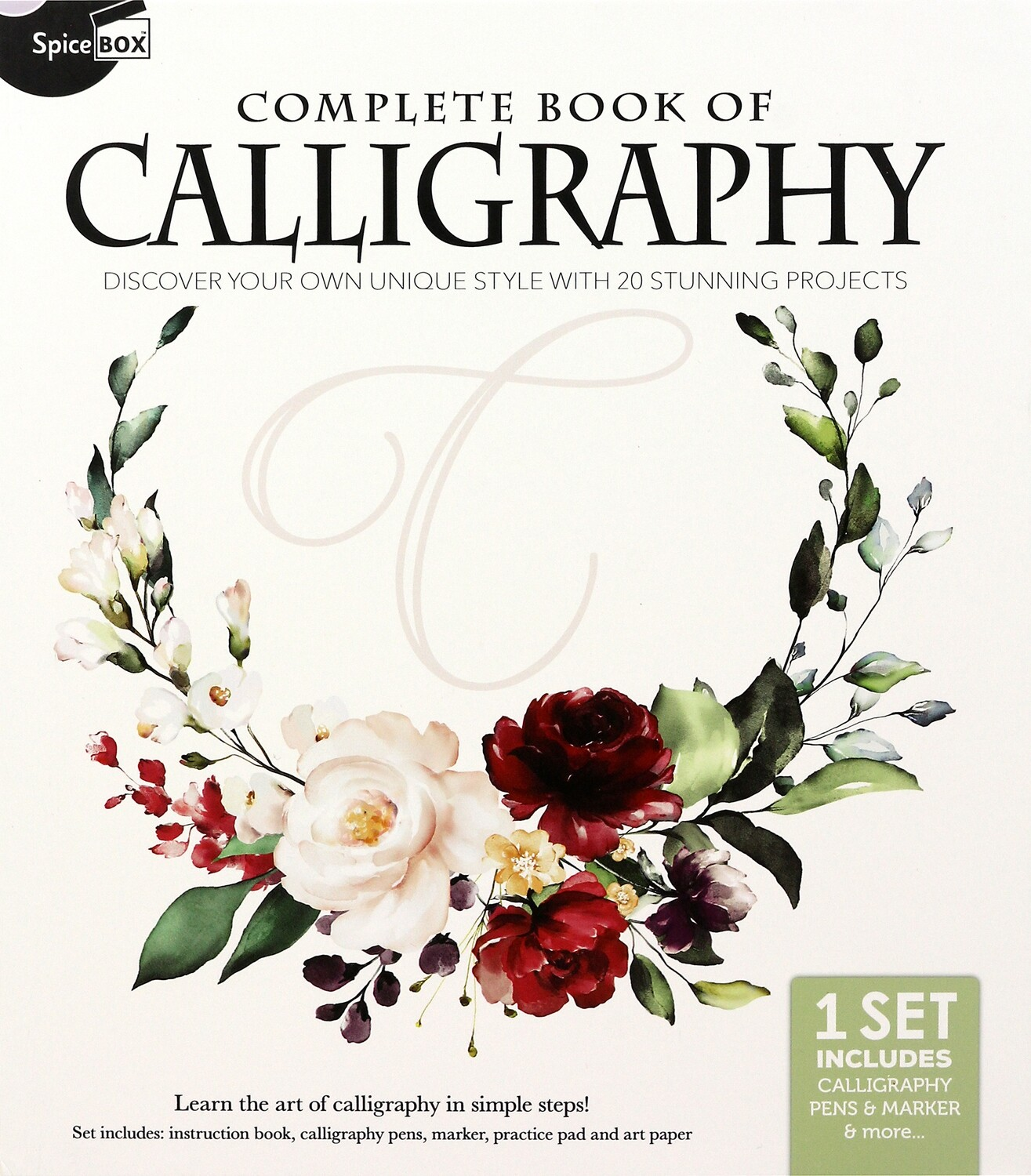 Book Kit: Complete Book Of Calligraphy