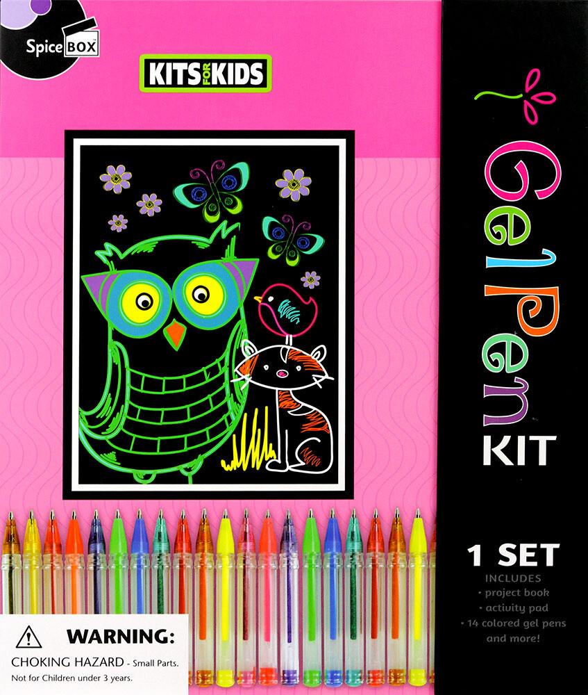 Book Kit: Kits For Kids Gel Pens