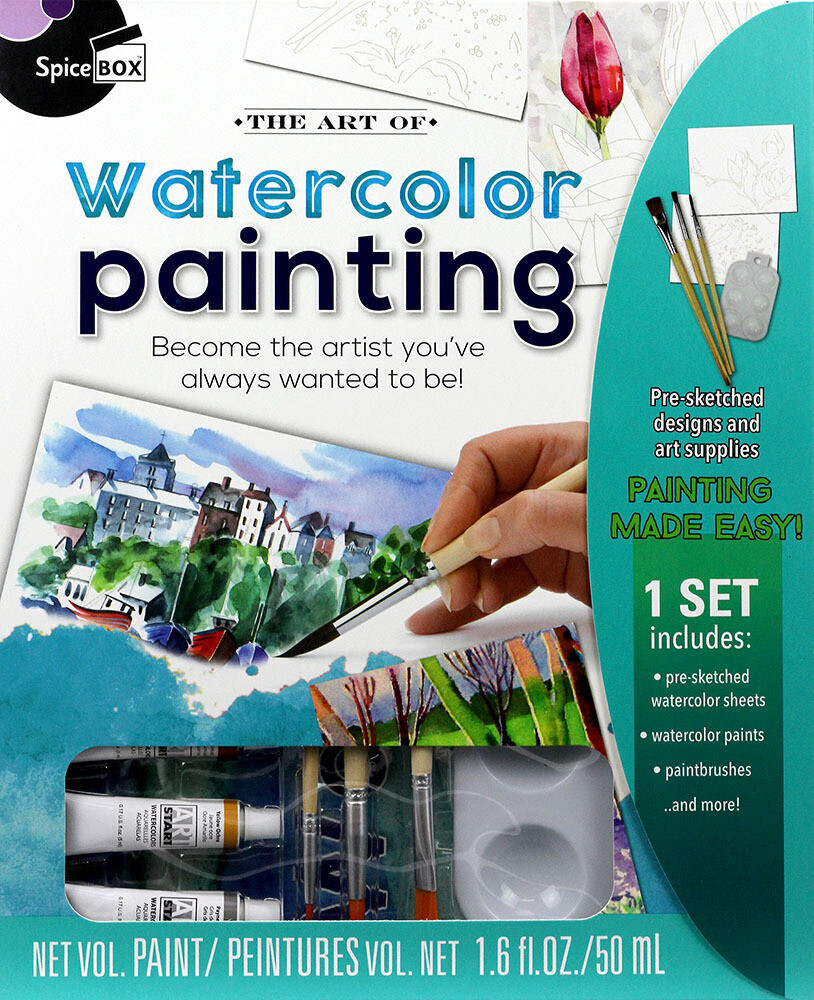 Book Kit: Art Of Watercolour Painting