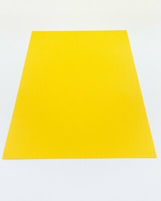 Cardstock, Maya, 54Lb Intensive Yellow, A4, Single