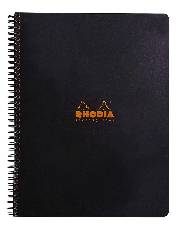 Notebook, Rhodia, Meeting Black, A4