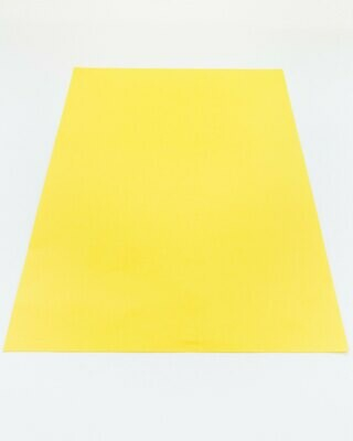 Cardstock, Maya, 54Lb Lemon, A4, Single