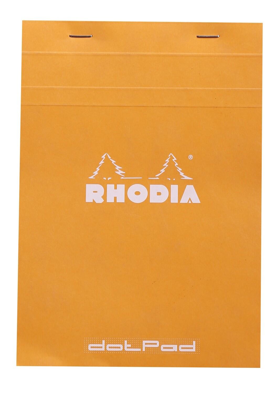 Notebook, Rhodia, Dotpad Orange, A5, Staplebound