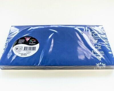 Envelopes, Removable Strip Night Blue, 20 Pack