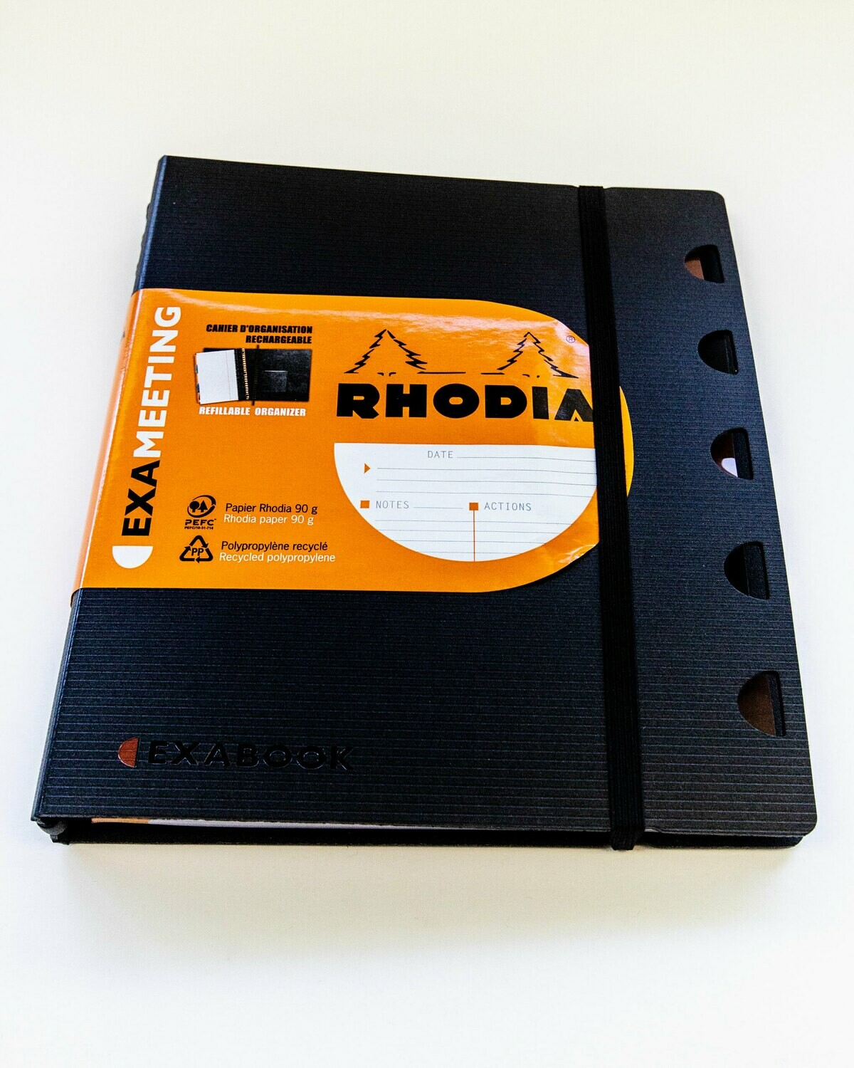 Notebook, Meeting, Rhodia Refillable, Exameeting, A5, 160 Page,