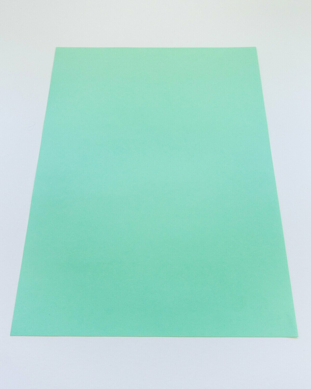 Cardstock, Maya, 54Lb Mint Green, A4, Single