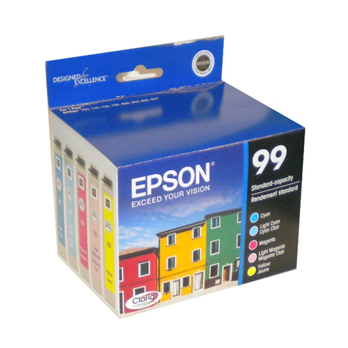 Epson 99 T099920 5 Pack