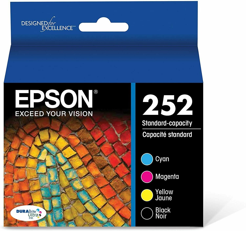 Epson T252120Bcs Black + Colour 4 Pack