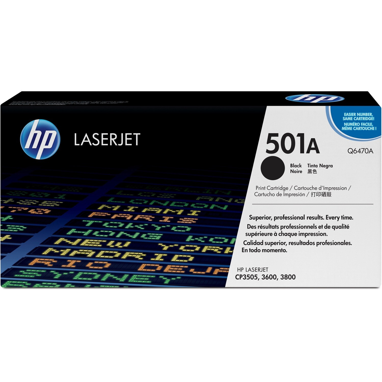 Hp Laser 501A Q6470A Black