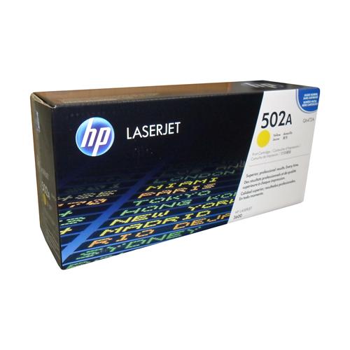 Hp Laser 502A Q6472A Yellow