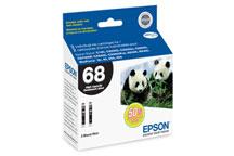 Epson 68 T068120 Black 2 Pack