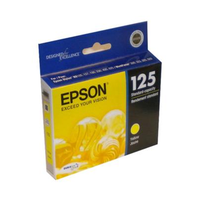 Epson 125 T125420S Yellow
