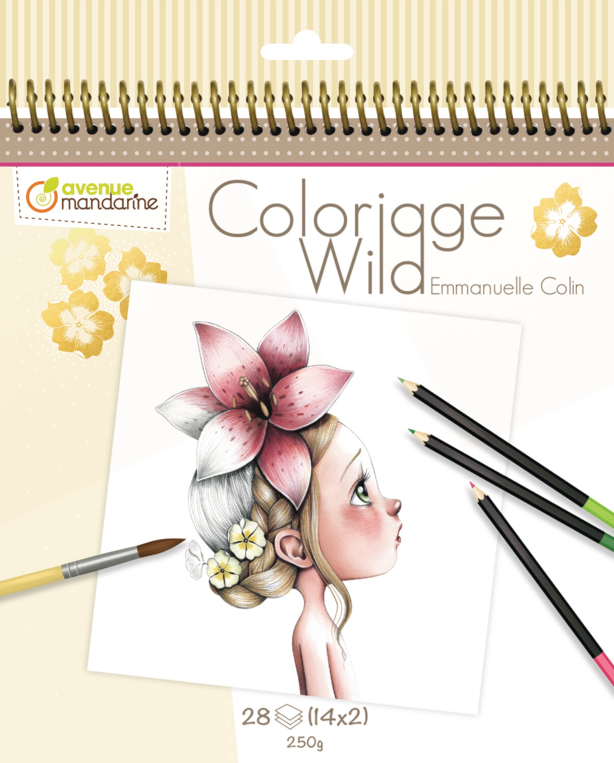 Colouring Book, Coloriage Wild 28 Page