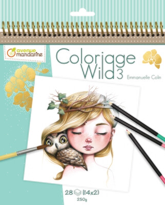 Colouring Book, Coloriage Wild 3 28 Pages