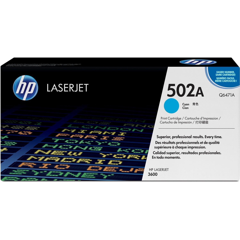 Hp Laser 502A Q6471A Cyan