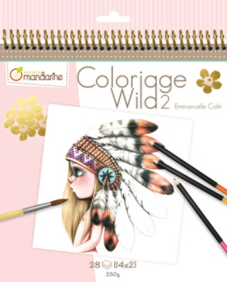 Colouring Book, Coloriage Wild 2 28 Pages