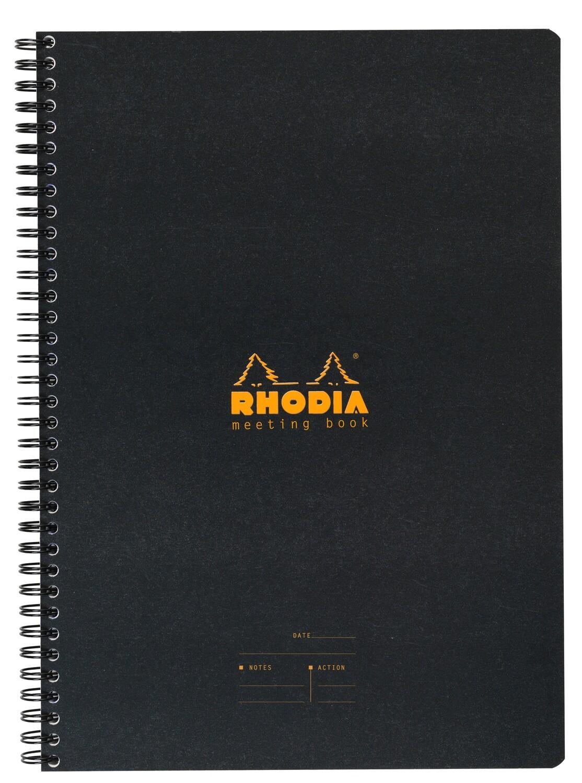 Notebook, Rhodia, Meeting Book Black, A5