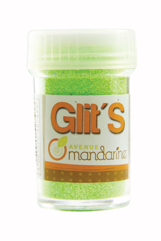 Glitter Fluorescent Green, 14g