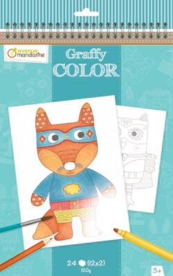 Colouring Book Cuddly Toys, A4