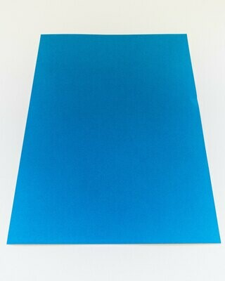 Cardstock, Maya, 54Lb Blue, A4, Single