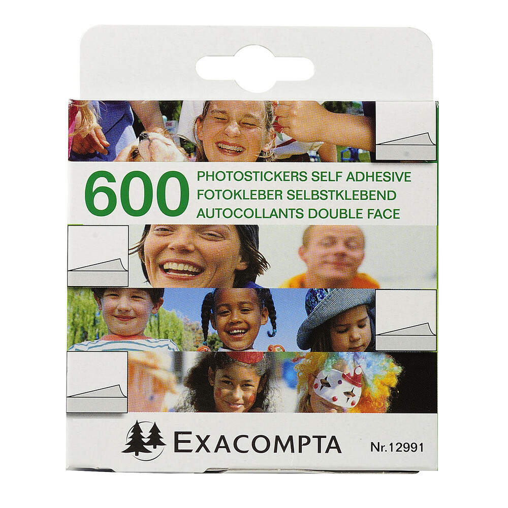 Tape, Double Sided, Photo Sticker 600 Pack
