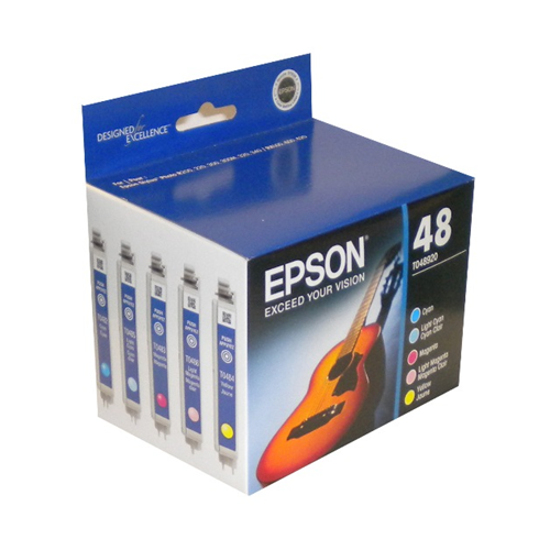 Epson 48 Ink T048920 Multi Pack