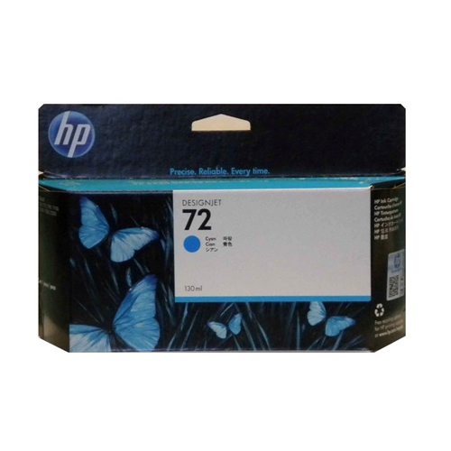 Hp 72 Plotter Ink Cyan 130Ml
