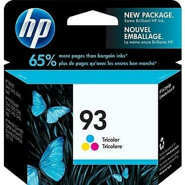 Hp 93 Tri-Colour
